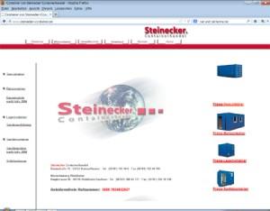 Steinecker -container.de